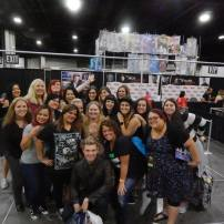 Group photo with Nick Carter