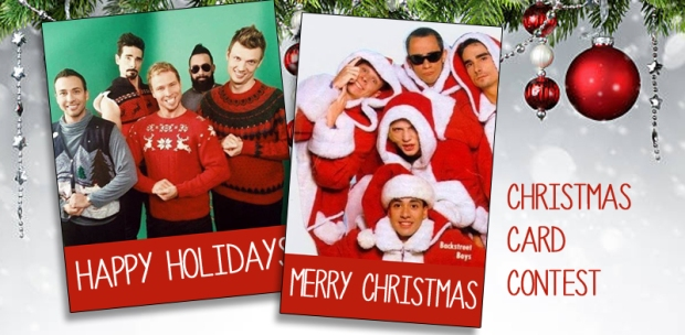 Backstreet Boys Christmas.Contest The Fangirling Life S Christmas Card Contest With